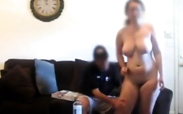 Nude Pizza Dare Gets Handsy