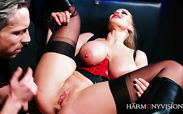 Harmonyvision - big-bosomed mother i´d like to fuck gets bound coupled with shafted - aaliyah venerable