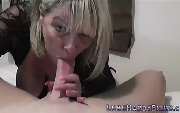 Buxom brit mother i´d like to fuck in pov porn unsportsmanlike Luke Hardy