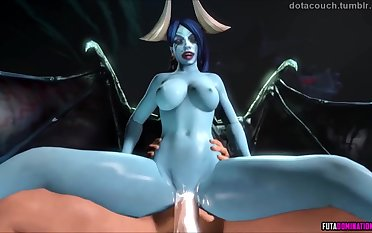Naughty 3D heroes obtaining their mouths fucked and pussy pounded well.